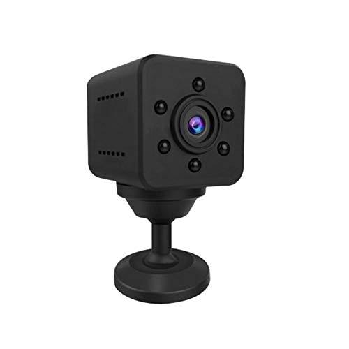Cámara Oculta Mini cámara espía, 1080P Wireless Small Nanny CAM, Cámara de Seguridad portátil para Interiores y Exteriores, Visión Nocturna y detección de Movimiento y Alarma Push