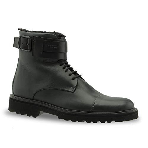 Strellson nimo nico boot tfu 2 Herren Leder Stiefel, dunkelgrün, EU 43