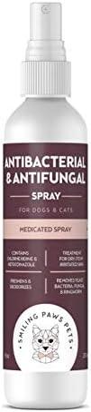 Advanced Chlorhexidine Ketoconazole Antiseptic Antibacteria Antifungal Medicated Spray For Cats product image