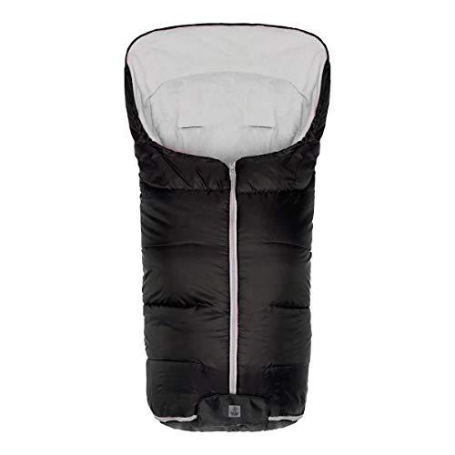 babycab Fußsack Eco Big - wasser- & windabweisender Winterfußsack mit softem Polarfleece-Futter & breiten Gurtschlitze