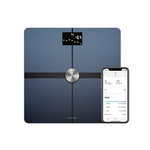 Withings/Nokia スマート体重計 Body + ブラック Wi-Fi/Bluetooth対応 体組成計 【日本正規代理店品】