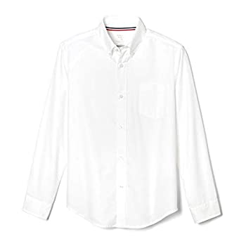 French Toast Little Boys  Long Sleeve Oxford Dress Shirt White 4T