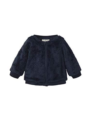 TOM TAILOR Sweatjacket Veste de Sport, Iris/Bleu (3800), 9 mois Bébé Fille