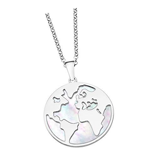 Lotus Silver Erde LP1949-1/1 JLP1949-1-1 - Collar de plata de ley 925 para mujer