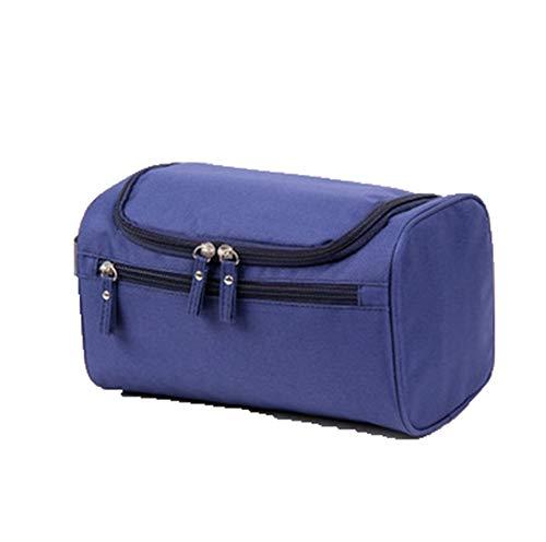 MoGist Trousse de Toilette Sac de Rangement Imperméable Sac de Voyage Maquillage Étanche Tissu Oxford Bleu Royal 26 * 15 * 16cm