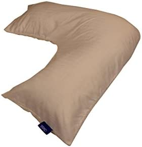 Contour Products L Pillow Case Beige Made Specifically for The L Shaped Body Pillow product image