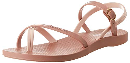 Ipanema Damen Fashion Sand VII Fem Flache Sandale, Rosa, 38 EU Estrecho