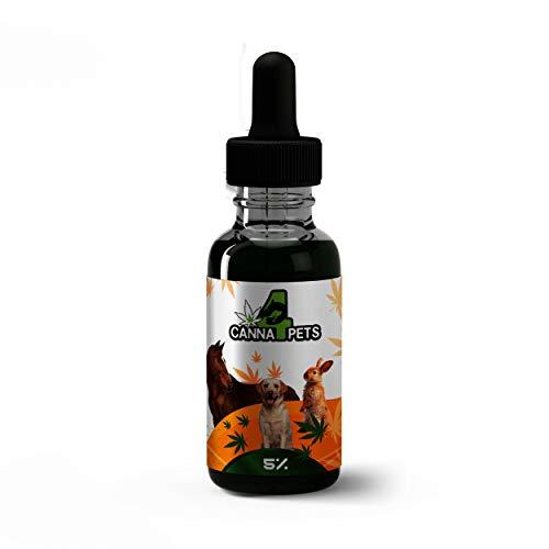 Canna4Pets - 5% Vital Tropfen für Hunde, Pferde, Kaninchen (10ml) - 250 TROPFEN
