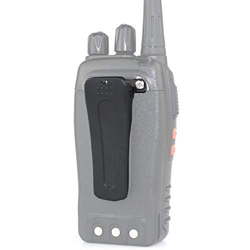 Mugast 10pcs Clip Walkie Talkie Cinturon Portatil Original Durable para Baofeng BF-888S BF-666S BF-777S