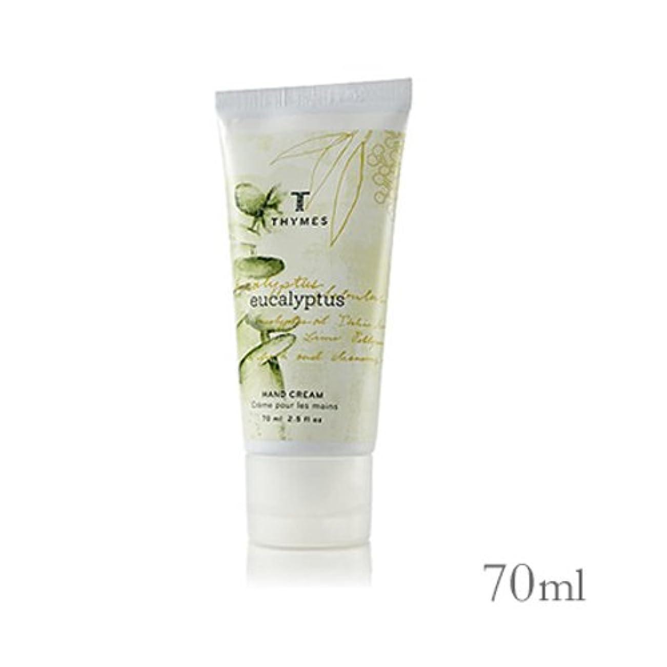 影響技術的なパリティTHYMES タイムズ ハンドクリーム 70ml ユーカリ Hand Cream 2.5 fl oz Eucalyptus [並行輸入品]