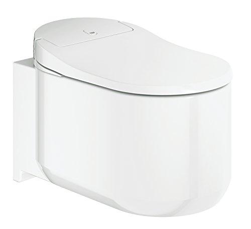 Grohe 39354SH0 Sensia Arena Shower Toilet WC con Funzione Bidet Integrata, Alpine/Bianco