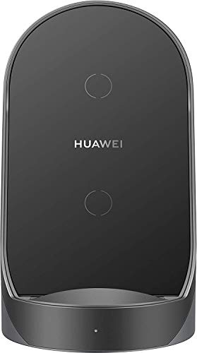 HUAWEI Cargador vertical inalámbrico Super Fast Charge compatible con P40 Pro +, P40 Pro, Mate 30 Series, Mate 20 Pro, Mate 20 RS.