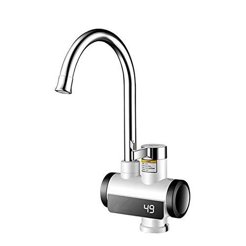 Elektrische Warmwasserhähne, Küchen Durchlauferhitzer Wasserhahn 360 Grad Schwenkbarer Auslauf Ohne Kalt Und Warmwasser