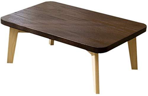 ZXL Laptopbureau van massief hout voor slaapkamer Ontdek de hoge veiligheidstafel voor kantoor (kleur: hout, maat: 70 cm)