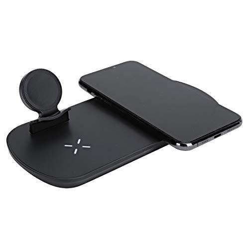 Cargador inalámbrico, estación de carga inalámbrica multifunción 3 en 1 Cargador rápido para teléfono Samsung Reloj Caja de auriculares Carga, soporte 5W / 7.5W / 10W Carga rápida inalámbrica