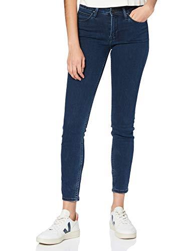 Lee Damen Scarlett Jeans, Dark Joni, 28W / 31L