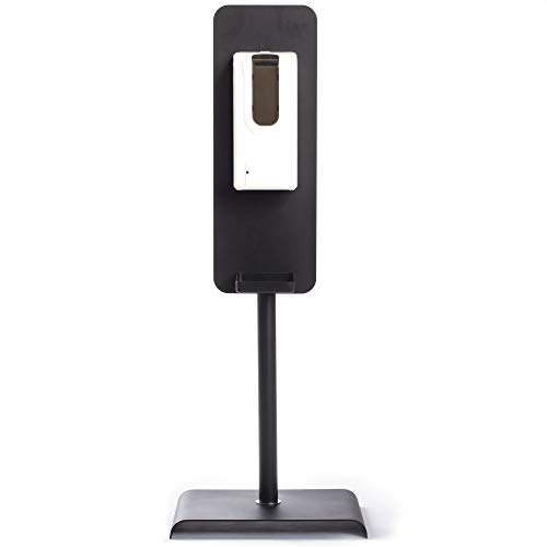 Hand Sanitizer Dispenser Stand - Automatic Touchless Sanitizing Machine Holder - Contactless Freestanding Sanitization Station Floor Stand for Factory, Warehouse, Office, Restaurants and More