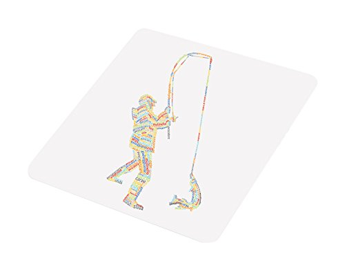 Feel Good Art FISHERMAN-COASTER-01IT Multicolore