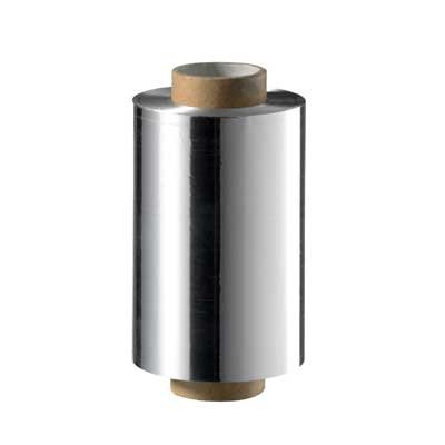Check up aluminium folie zilver, 250m aluminiumfolie zilver - 250 m / 12 cm breed