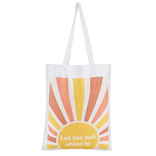 Miss Rabbit Cotton Cute Reusable Grocery Shopping Canvas Tote Bag for Women