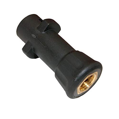 PremiumPlus!+ Kunststoff/Messing-Adapter für Kärcher Hochdruck-Pistole (K2-K7) Bajonett auf 1/4