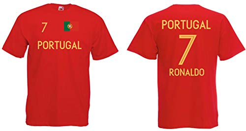Portugal Ronaldo T-Shirt Trikot WM-2018 Look NEU