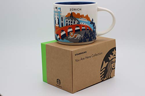 Starbucks City Mug You Are Here Collection Zürich Kaffeetasse Coffee Cup