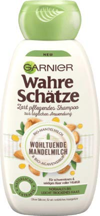 Garnier Ultra Doux/Whole Blends Soothing Almond Milk Shampoo 250 ml / 8.4 fl oz