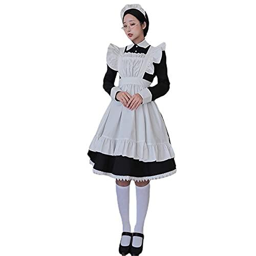 Kawaii jsk Nette Lolita Uniform Tageskleid traditionelles Dienstmädchen-Outfit Anime Dienstmädchen-Schichtkleid Cosplay-Kostüm für Erwachsene