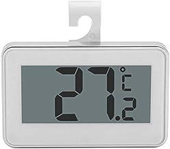 El termómetro de refrigerador LCD Grande del termómetro con termómetro Digital de imán de Soporte Ajustable, Zhongxianshangmaoyouxiangongsi (Color : White)
