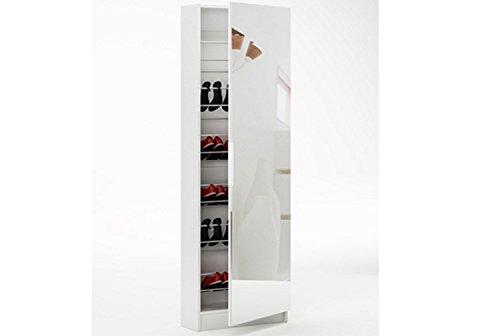 LIQUIDATODO ® - Zapatero con espejo de 1 puerta moderno y barato de...