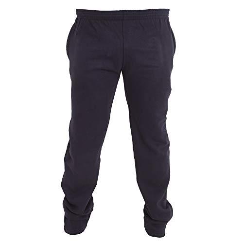 Duke Pantalones de chándal en talla grande con dobladillo abierto modelo Albert...