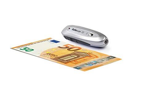 Safescan 35 - Detector de billetes falsos portátil. Verifica las características magnéticas, hilo metálico y UV