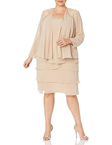 Vestido Talla Grande marca S.L. Fashions