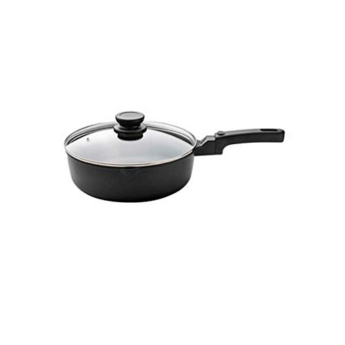 Antiadhésives woks en céramique et Sauté casseroles, cuivre avec poignée Skillet Aide en acier inoxydable, Sauteuse for l'induction, gaz, verre céramique électrique une cuisinière JIAMING