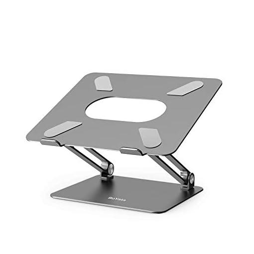 BoYata Soporte para computadora portátil, multiángulo Elevador con ventilación térmica Compatible para computadora… 1