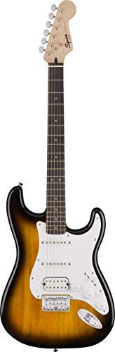 Fender Squier Stratocaster - Sunburst Bundle with Frontman 10G Amplifier, Gig Bag, Instrument Cable, Tuner, Strap, Picks, Fender Play Online Lessons, Instructional Book, and Instructional DVD