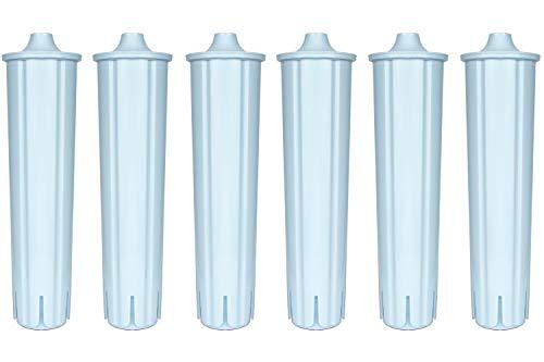 Filterpatronen Wasserfilter kompatibel mit JURA CLARIS BLUE Filter für Jura Kaffee Vollautomat Kaffeemaschine IMPRESSA ENA GIGA effektiv mit Reinigungstabletten für Kaffeevollautomaten (6)