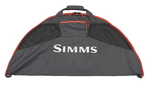 Simms Taco Wader Bag, Waterproof Fishing Changing Mat & Bag, Anvil