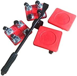 Heavy Furniture Lifter 4 Pcs Furniture Slides Kit Mover Tool Set Rubber Appliance Roller Suitable product image