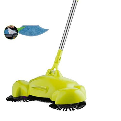 WEWE Poubelle Dustbin Green Sweeping Machine Druk op de Stofzuiger Thuis Stofzuiger Stof Pak Rollsnownow (Maat: Er is een vod)