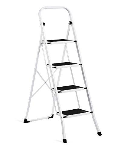 ACKO Folding 4-Step Ladder With Convenient Handgrip