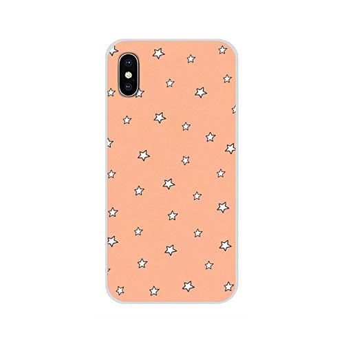 Para Huawei G7 G8 P8 P9 P10 P20 P30 Lite Mini Pro P Smart Plus 2017 2018 2019 Accesorios Fundas de teléfono Fundas Estrellas imágenes 6-Para P8 Lite 2017