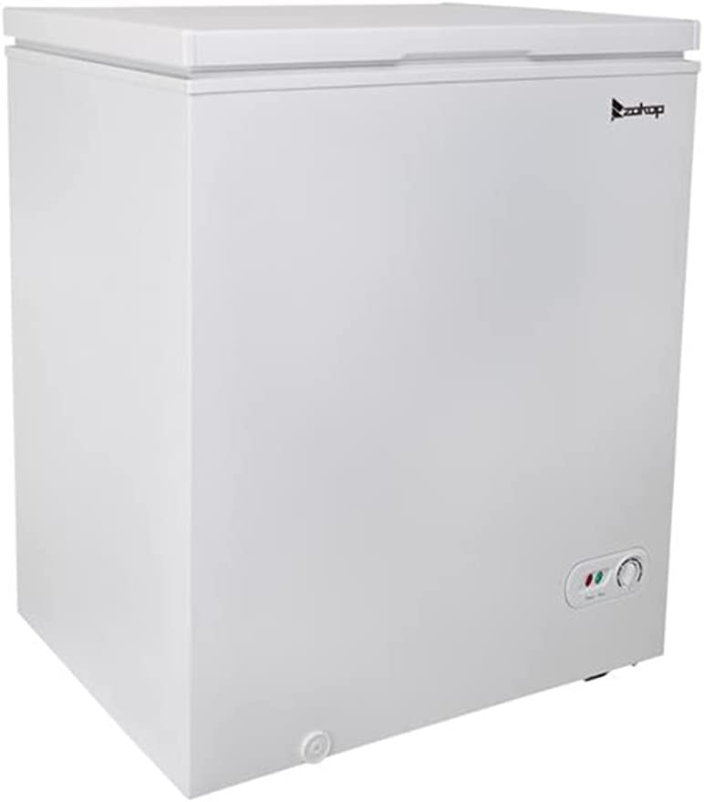 3.5 Cubic Feet Top Chest Freezer Thermostat Adjustable Max 64% OFF with and Max 76% OFF