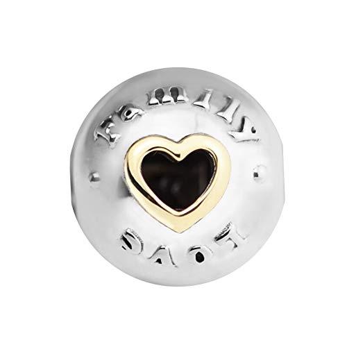 Pandora Charms Da Donna Argento Sterling 925 Beads Clip D'Amore Per Gioielli Compatibile Con Braccialetti E Collane