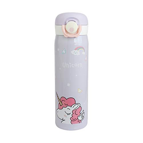 Emartbuy 500 ml Unicornio Apertura Fliptop Spring Prueba de