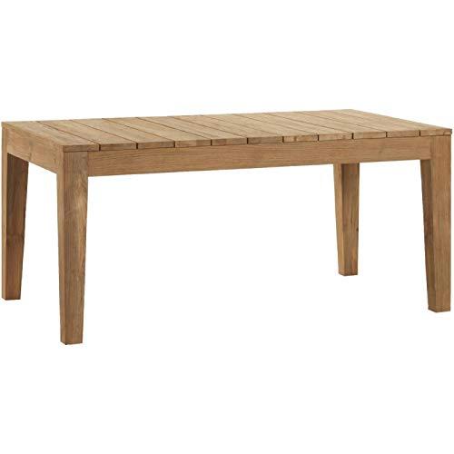 Kok Maison – tafel Outdoor Teak, gerecycled, 220 x 100, 170 x 100 cm