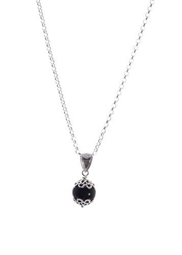 Silberhalskette - Sardisches Amulett