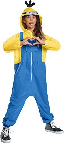 Rubie's Child's Minions Rise of Gru Oversized Costume Jumpsuit, Small