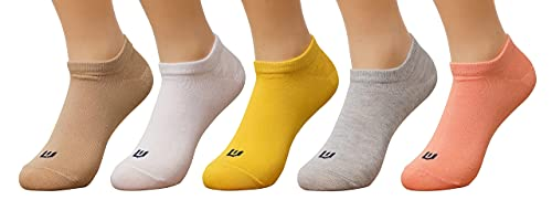 Urban Ethnics New Women's Colorful Socks Pure Cotton Shoe-Liner